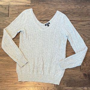 Medium Gray A Pea in the Pod Maternity Sweater